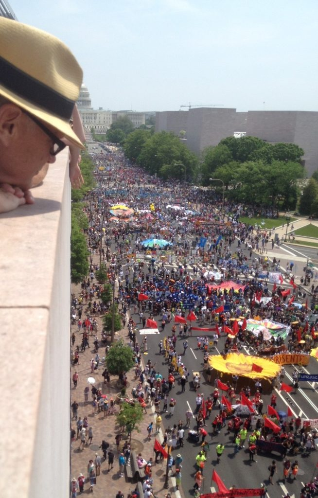 Jeff Renner's report from the D.C. People's Climate March