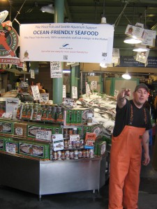Pike Place Fish Market - 100% Sustainable Seafood