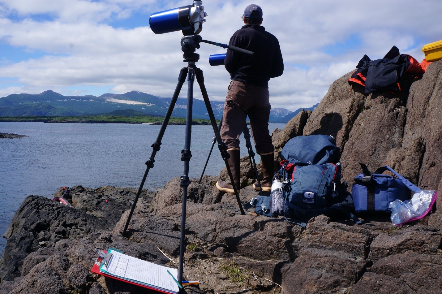 Part 1: Katmai sea otter research trip 2017