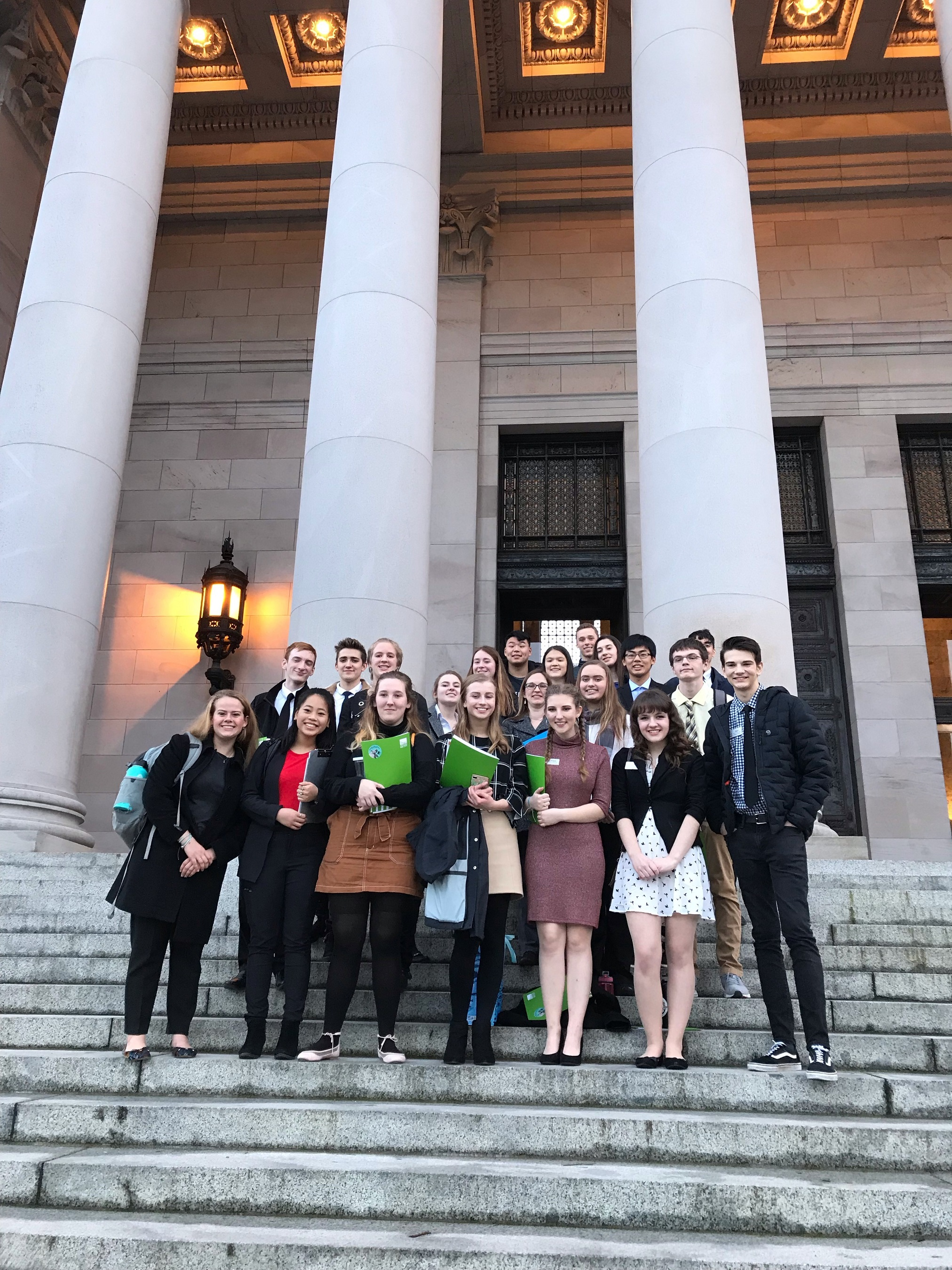 Youth Ocean Advocates in Olympia