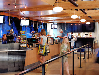 Seattle Aquarium café