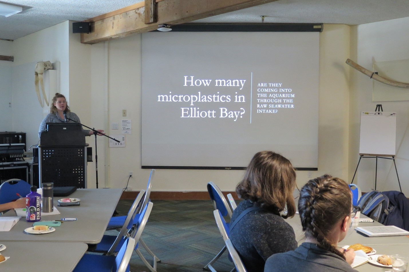 Seattle Aquarium's microplastics research assistant Laura La Beur presents our microplastics monitoring efforts and results.