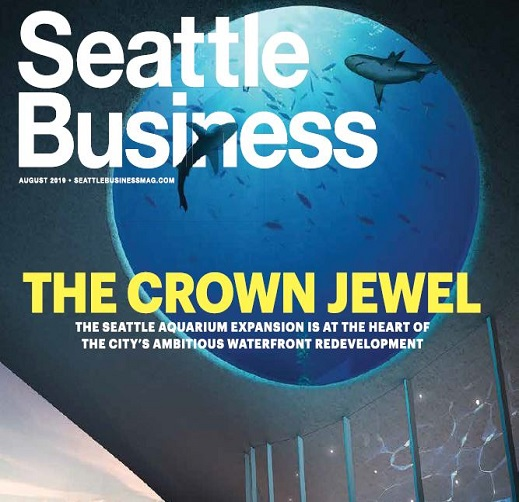 Cover of Seattle Business magazine