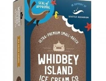 "Whidbey Island Ice Cream ""Seal of Approval"" ice cream bar"