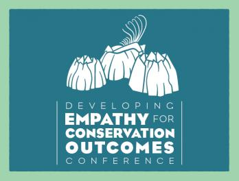 Developing Empathy for Conservation Outcomes event banner